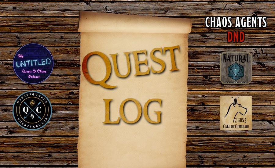 Quest Log – May 4th – Tavern Upkeep is paid