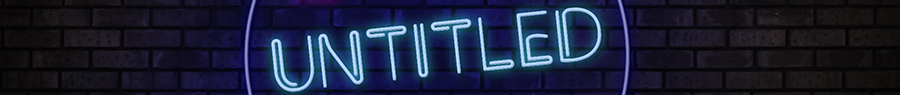 The Untitled Podcast Logo Banner