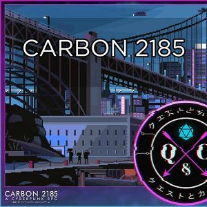 Carbon 2185 live stream and podcast logo
