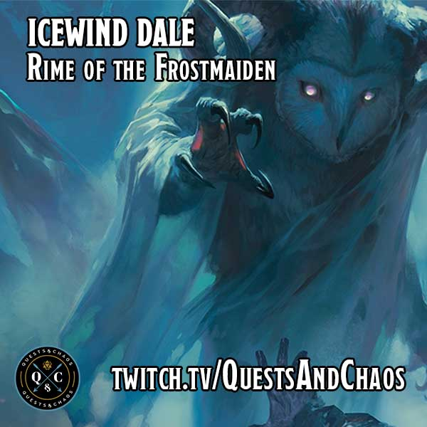 Icewind Dale Rime of the Frost Maiden Podcast Logo